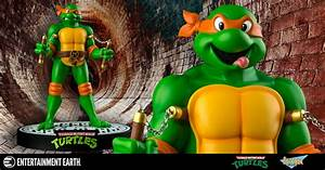 TMNT Michelangelo 12 Inch Statue by Ikon Collectibles ...