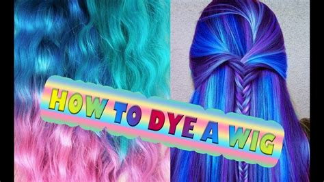Dye Synthetic Hair Wig Dreads Ombre Extension Cosplay