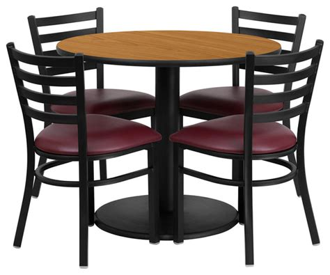 flash furniture 36 inch laminate table set