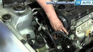 hyundai accent starting problems part 2 how to install replace timing belt and water hyundai elantra