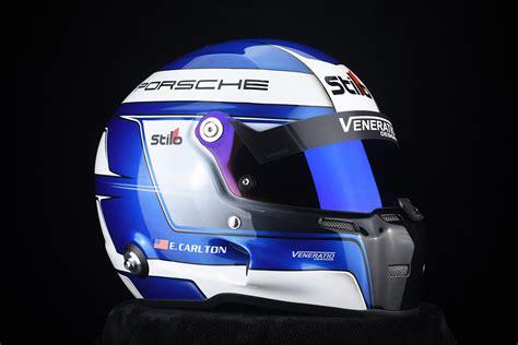 custom painted stilo st gt porsche helmet  veneratio