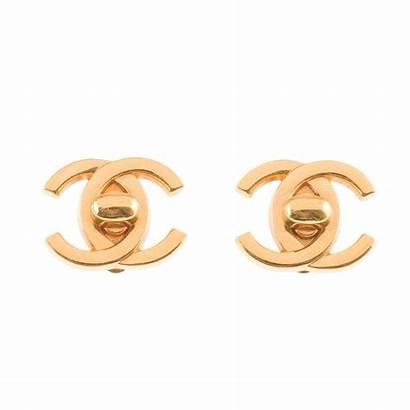 Chanel Earrings Cc Turnlock Tradesy Jewelry Clip