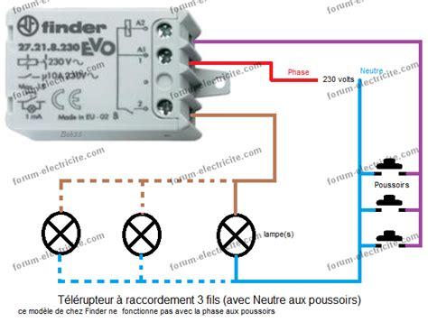 Schema Cablage Telerupteur 4 Fils