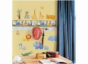 Bordüre Kinderzimmer Elefanten : roommates bord re dschungel tiere selbstklebend bord ren ~ Markanthonyermac.com Haus und Dekorationen