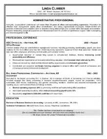 high level executive assistant resume administrative assistant resume exles and sles