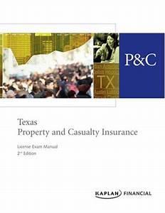 Texas Property  U0026 Casualty Insurance License Exam Manual