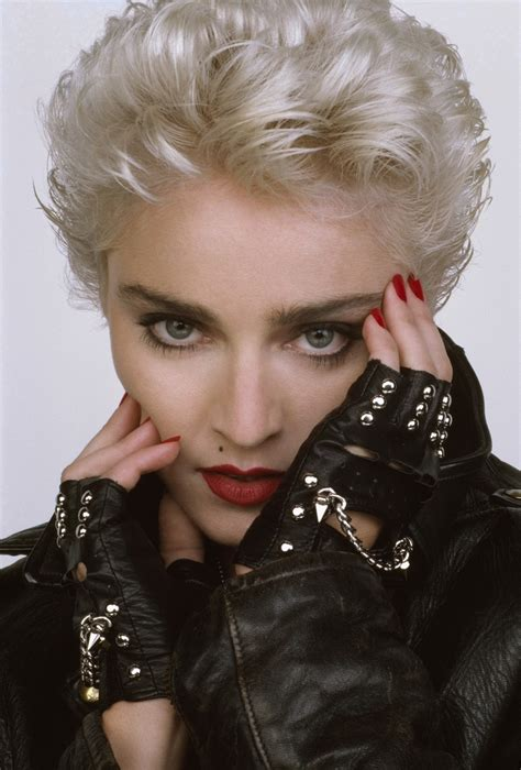 Madonna 80s Hairstyles by Madonna