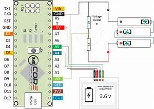 Battery Tester Wiring Diagram : oled voltage meter on voltage divider ~ A.2002-acura-tl-radio.info Haus und Dekorationen