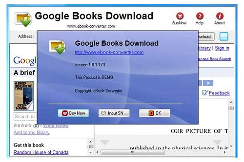google ebook download software
