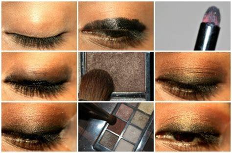 kohl  bronze eyes makeup tutorial