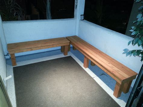 diy outdoor wood bench  steps  pictures