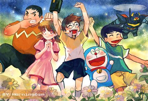 doraemon anime version doraemon by morning6am on deviantart