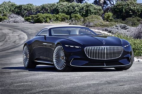 Vision Mercedes-maybach 6 Cabriolet Unveiled At Pebble