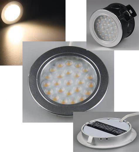 LED Einbaustrahler warmweiß für UP Dosen rund 2W 180lm R60