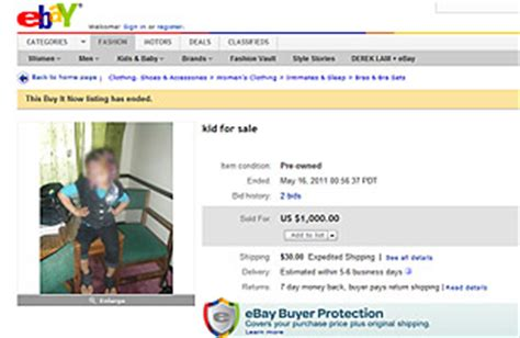 Mom Tries to Sell Kids on eBay - The Top 10 Everything of ...