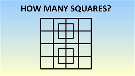how many square in a square how many square in a square 28 images totally brainsome how many squares can you count