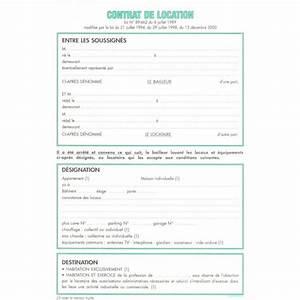 feuilles de contrat de location pour locaux non meubles With exemple contrat de location meuble
