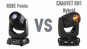 robe pointe vs chauvet rh1 hybrid youtube With robe pointe