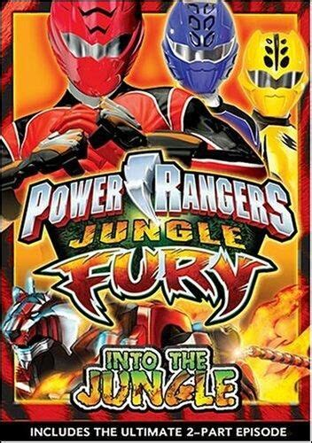 power rangers jungle fury    master