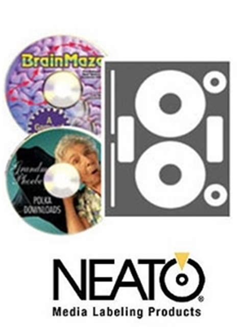 Fellowes Neato Templates by Genuine Fellowes Neato Cls 181585 Photo Matte Cd Dvd