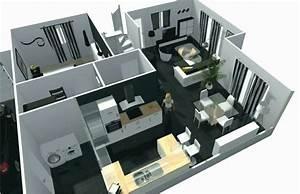 U00c9pingl U00e9 Sur 3d House Interior Design