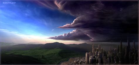 Encroaching Storm By Panpks On Deviantart