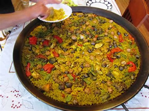 cuisiner avec cookeo paella express chorizo lardons avec cookeo recette facile