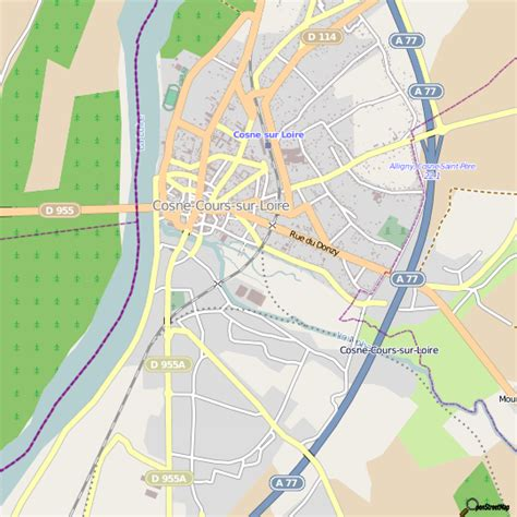 leclerc cuisine plan cosne cours sur loire carte ville cosne cours sur loire