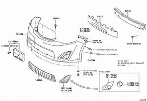 2016 Toyota Camry Cover  Front Bumper  Body  Interior