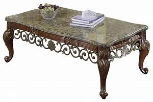 homelegance barcelona 3 piece marble top coffee tables set With granite coffee table set