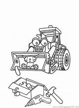 Builder Bob Coloring Pages Scoop Printable Cartoon Muck Drawing Cartoons Animated Series Colouring Introduces Profession Program Sheets Library Clipart Coloringhome sketch template