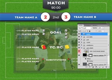 15 Redskins Football Scoreboard PSD Templates Images ...