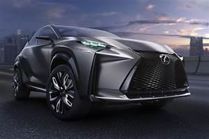 Lexus LF-NX Concept Car at the Tokyo Motor Show 2013