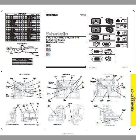 3406e Caterpillar Engine Wiring For by Cat Diesel Engine Electric And Electronic Manuals