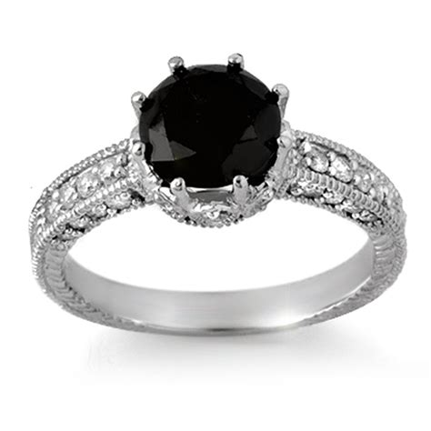 black engagement rings the sensuous black rings