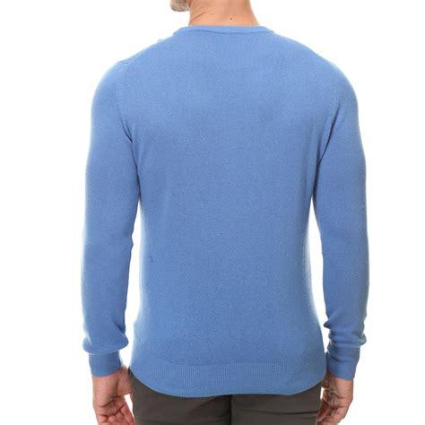 light blue crew neck sweatshirt crew neck sweater light blue xs nhav touch of modern