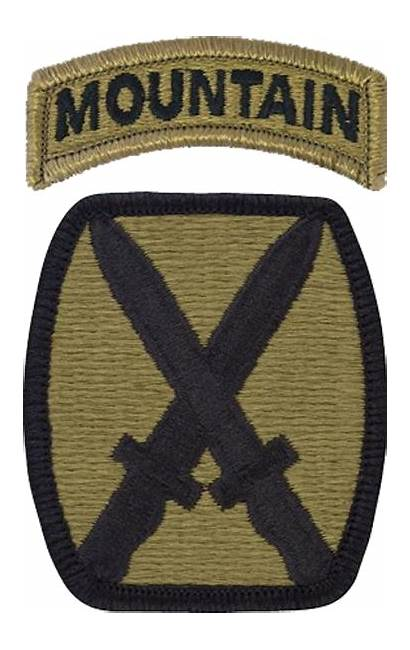 10th Division Mountain Patch Infantry Combat 86th