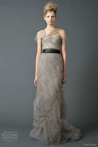 vera wang wedding dresses fall 2011 bridal collection With grey wedding dress vera wang