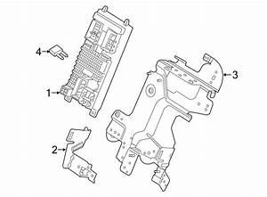 2015 Land Rover Lr2 Fuse Box Bracket  Lower   Instrument