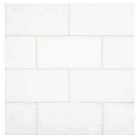 3 x 6 subway tile thassos honed 3 quot x 6 quot natural stone marble subway tile