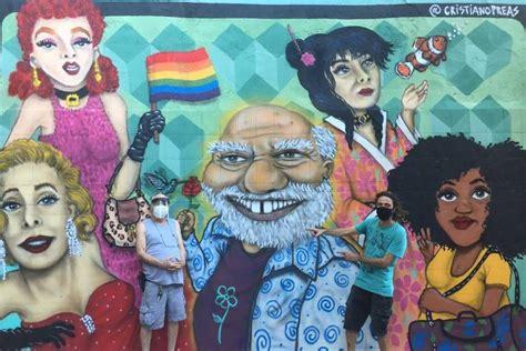 Ator Tonico Pereira é homenageado com grafite em muro no ...