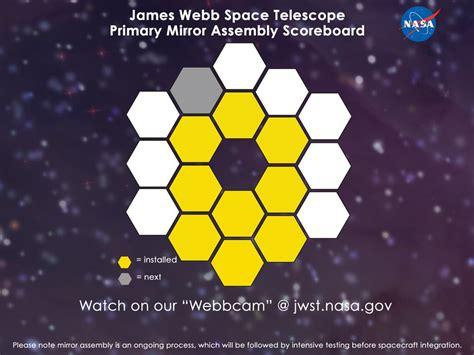 James Webb Space Telescope Mirror Installation Reaches ...
