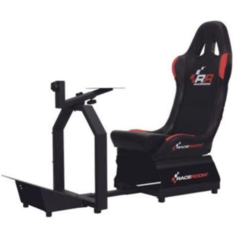 boulanger siege raceroom rr3055 siège de simulation de course simulation