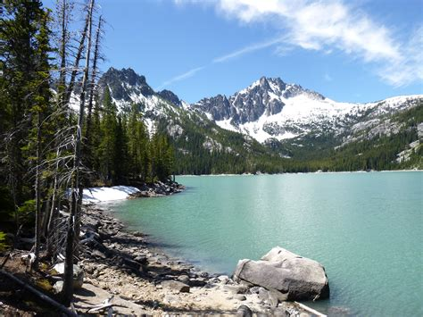 snow lakes enchantments  mountaineers