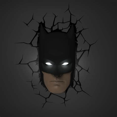 3d wall light batman mask the leading led shop by lumitronix
