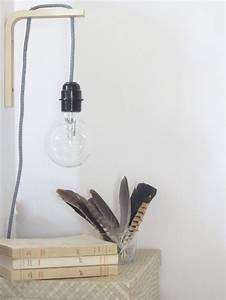 Luminaire Fait Maison : une lampe de chevet fa on baladeuse diy pinterest ~ Melissatoandfro.com Idées de Décoration