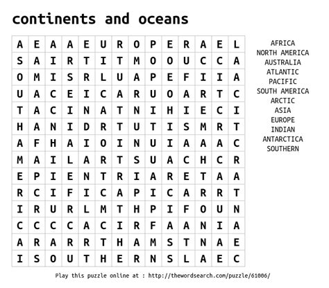 kitchen and dining area design crossword answers continents and oceans word search 9638
