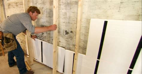 insulate  existing concrete block wall