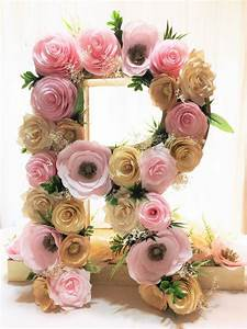 best 25 flower letters ideas on pinterest letter With decorative letters with flowers