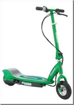 Razor Electric Scooter Green Parts